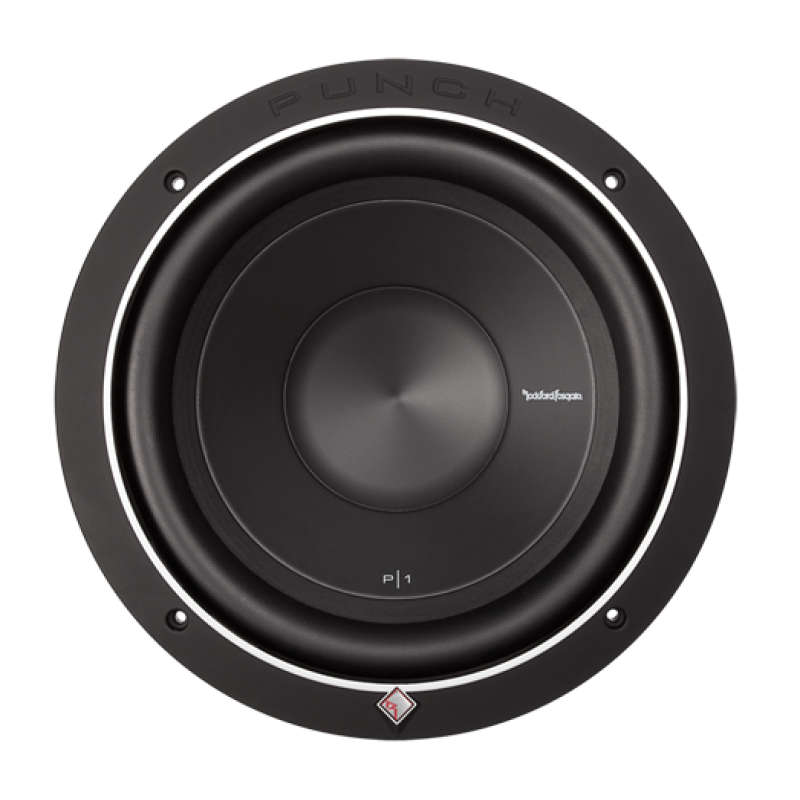 """Rockford Fosgate Punch 10"""" P1 4-Ohm SVC Subwoofer"""